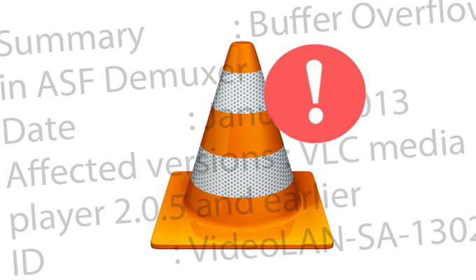 Buffer Overflow Vulnerability Found in VLC Media Player