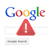 Google search warning