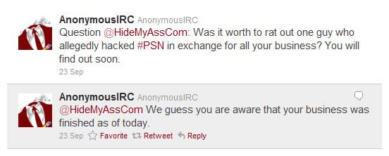 Anon IRC