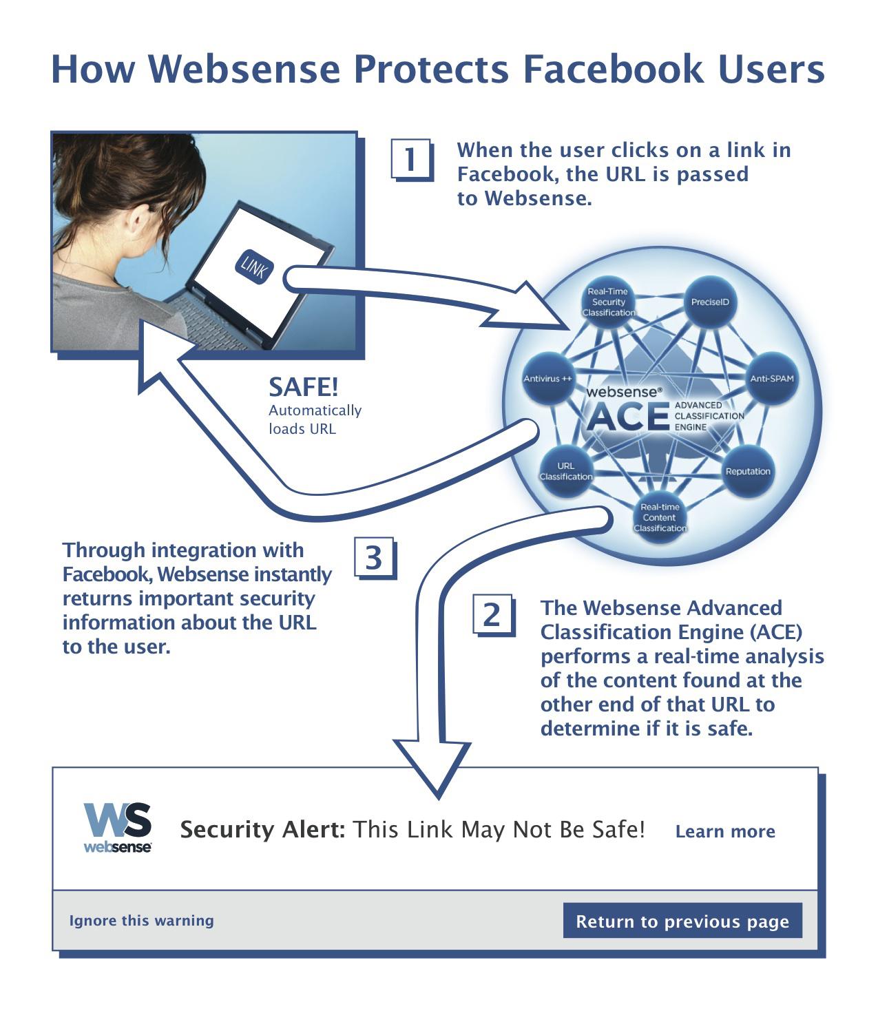 Websense-Facebook Infographic