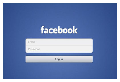 Facebook log on