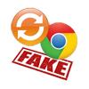 Fake Chrome update