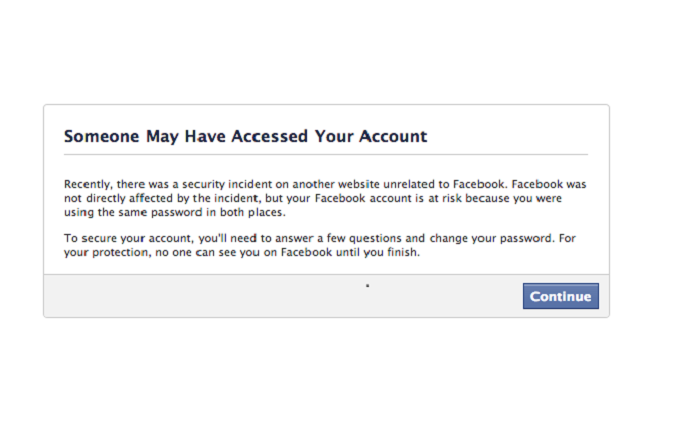 Facebook Requires Password Resets Related to Adobe | Threatpost