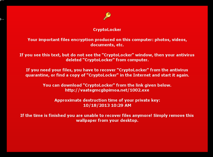 behind the cryptolocker disruption the first stop for security