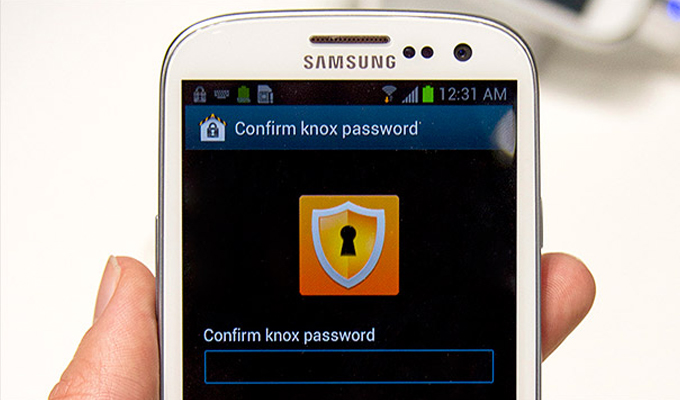 NSA-Approved Samsung Knox Stores PIN in Cleartext