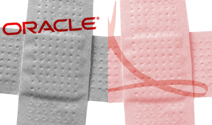 oracle critical patch update