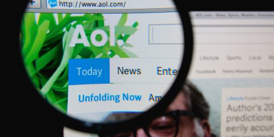 AOL transparency report