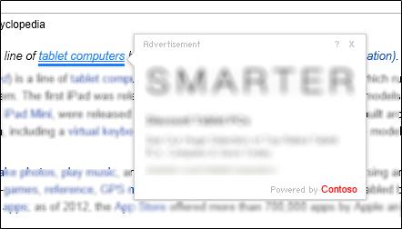 Microsoft adware