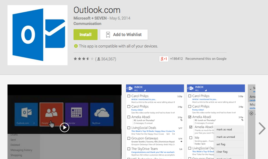 Android Outlook App Could Expose Emails, Attachments