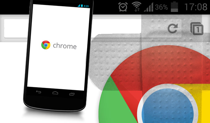 chrome has stopped working android