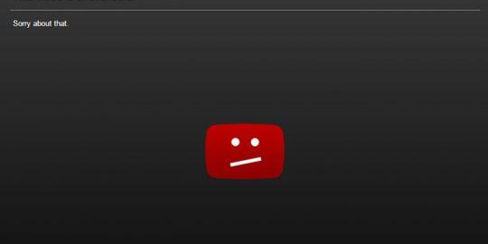 youtube video delete bug