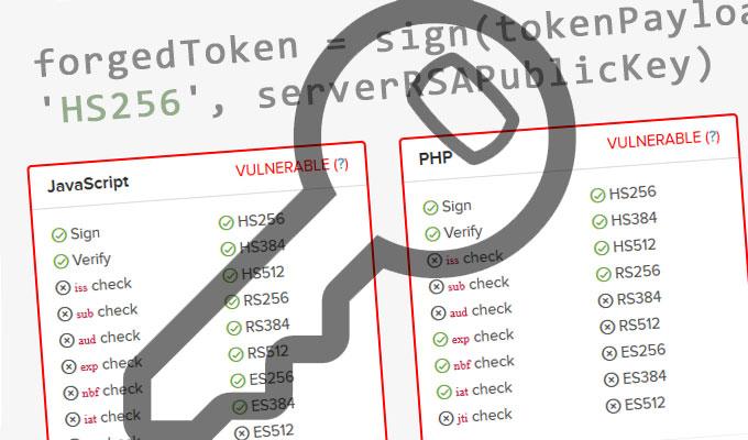 Critical Vulnerabilities Affecting JSON Web Token Libraries
