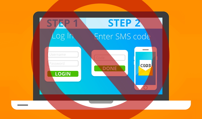 NIST Recommends SMS Two Factor Authentication Deprecation