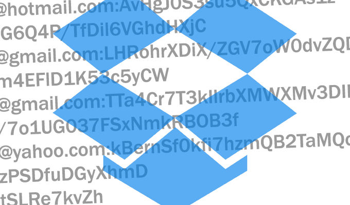 2012 Dropbox Hack Spilled Emails, Hashed Passwords on 68 Million