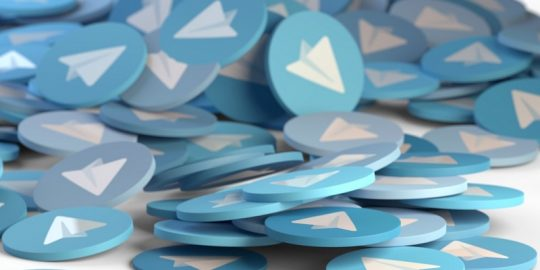 telegram ddos attack china
