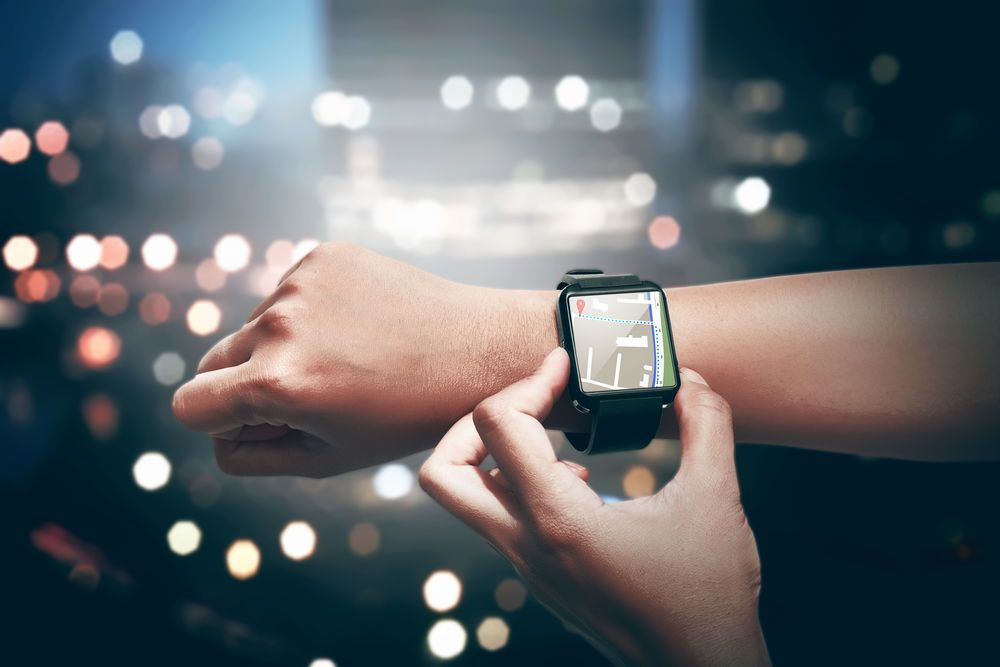 abstract-Hand-setting-route-for-GPS-on-the-smart-watch