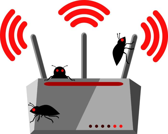 Router-bug