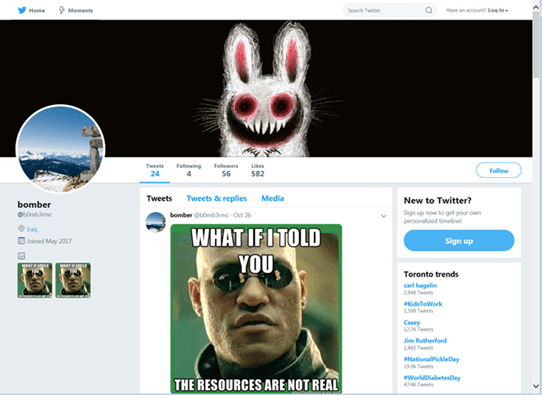 RAT uses Twitter images to instruct malicious behavior