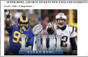 super bowl liii scam tickets