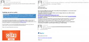 Phishing report Kaspersky Lab