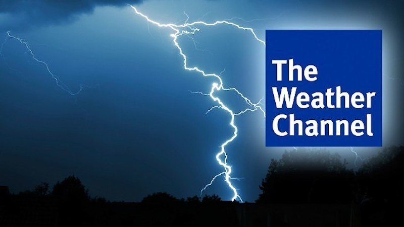 weather channel knocked off