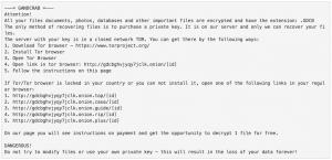 ransomware canada gandcrab