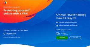 mozilla VPN protonVPN