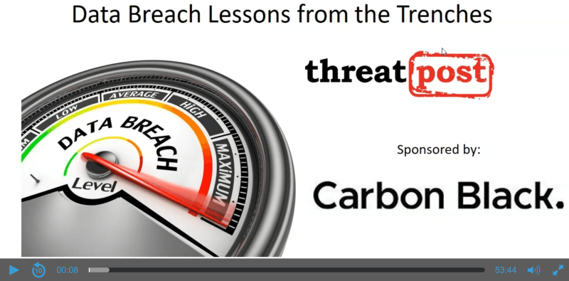 Data Breaches Lessons from the Trenches