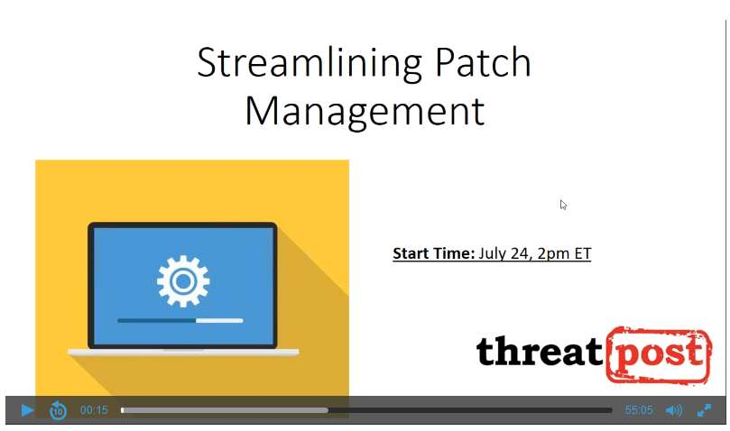 Streamlining patch management