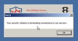 hire vets malware