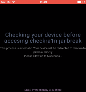 fake iOS jailbreak