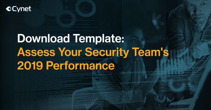 Download: 2019 Security Team Assessment Template