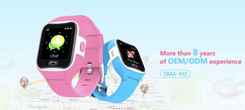kids smartwatch data privacy
