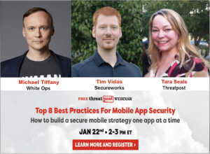 Threatpost Webinar Promo Mobile App Security