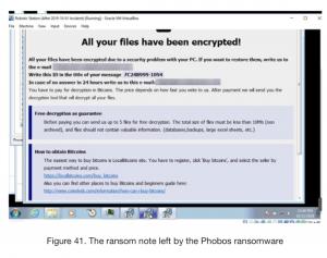 phobos ransomware