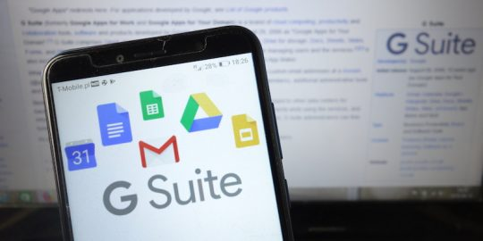 G Suite Google Chromebook