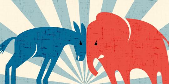 political spam democratic primary
