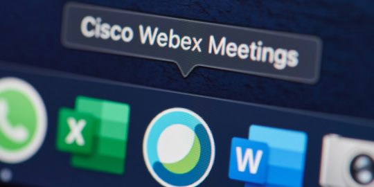 cisco webex meeting phishing