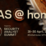 SAS@home Virtual Summit Showcases New Threat Intel, Industry Changes
