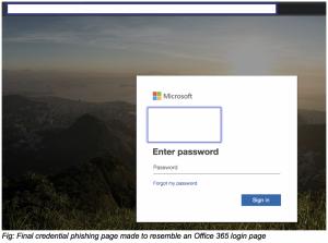 subpoena phishing attack