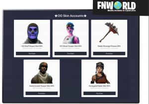 fortnite stolen account