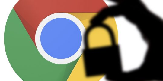 google chrome 86 security password