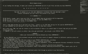 , Campari Site Suffers Ransomware Hangover