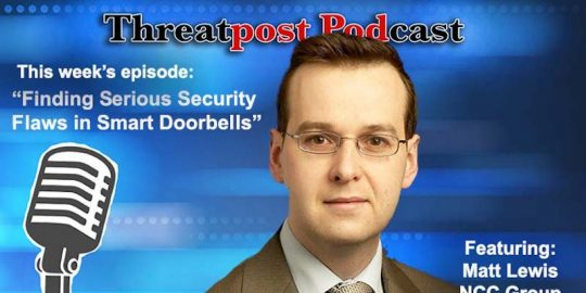 matt lewis Threatpost podcast IoT Device