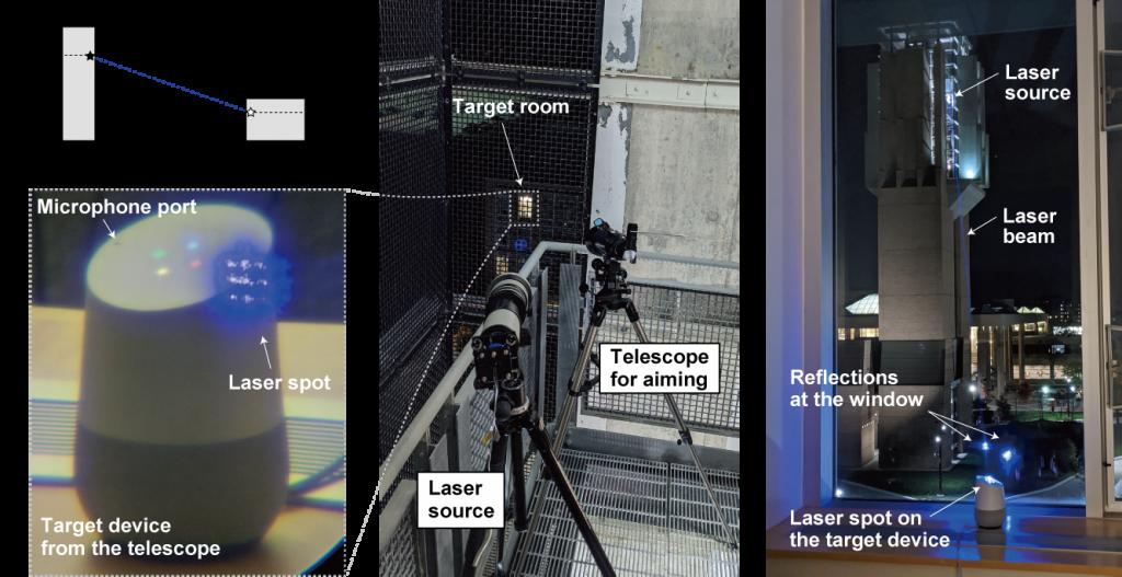 Alexa, Siri, Google Smart Speakers Hacked Via Laser Beam
