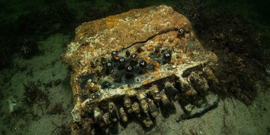 enigma machine divers baltic