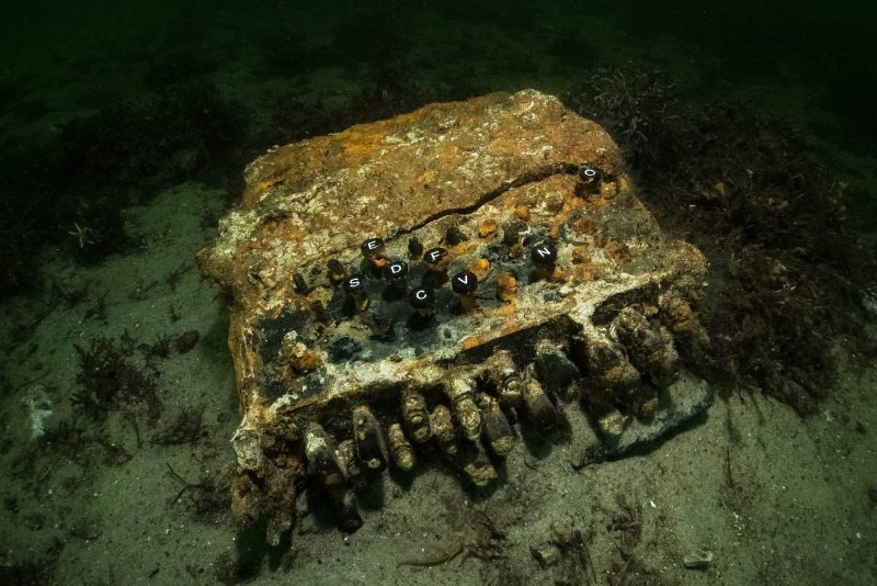 enigma machine divers baltic