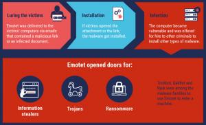 , Emotet Takedown Disrupts Vast Criminal Infrastructure; NetWalker Site Offline