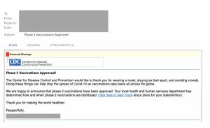 covid vaccine phishing