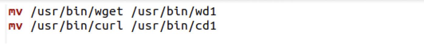 Figure 8- Utilities getting renamed in the script